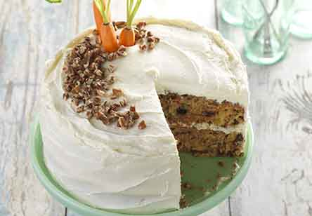 Gluten-Free Carrot Cake with Cream Cheese Frosting