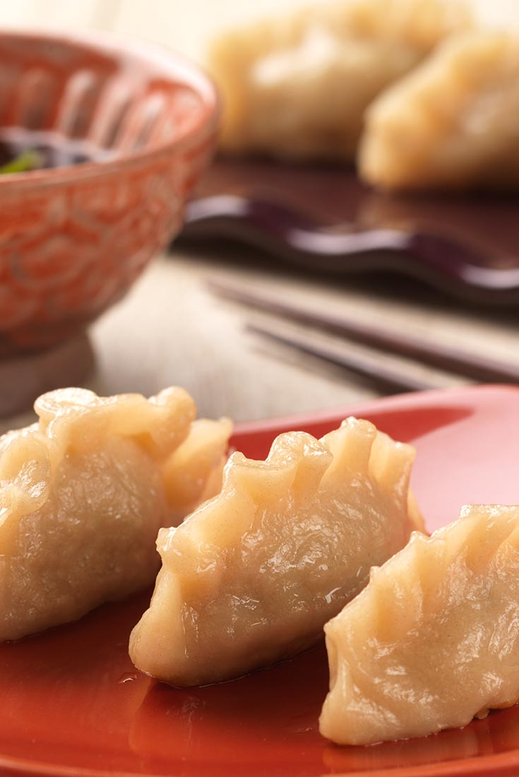 how to make asian pork dumplings