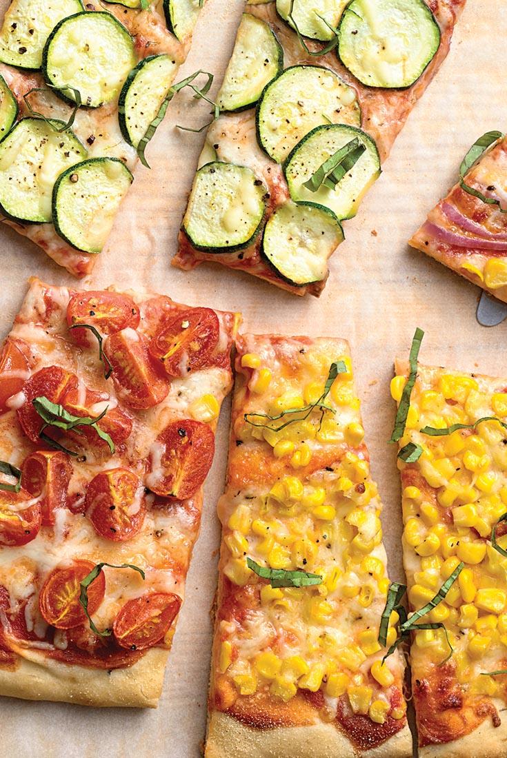 Farmers' Market Pizza Recipe
