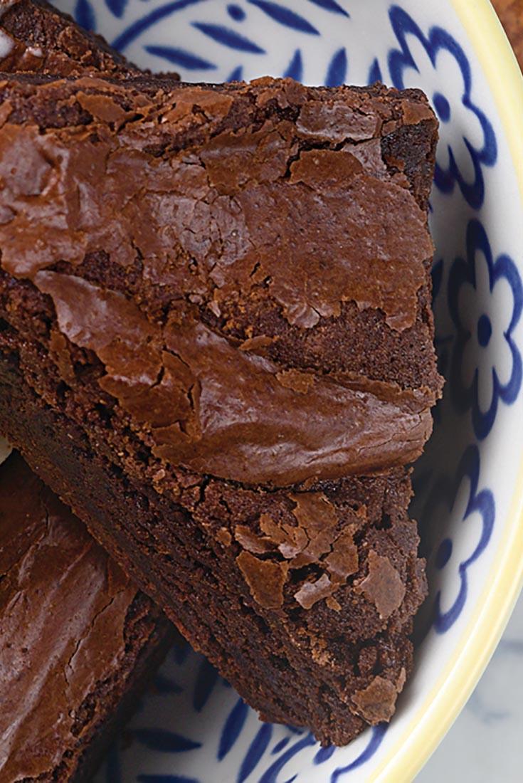Cinnamon-Spiced Chocolate Brownies Recipe