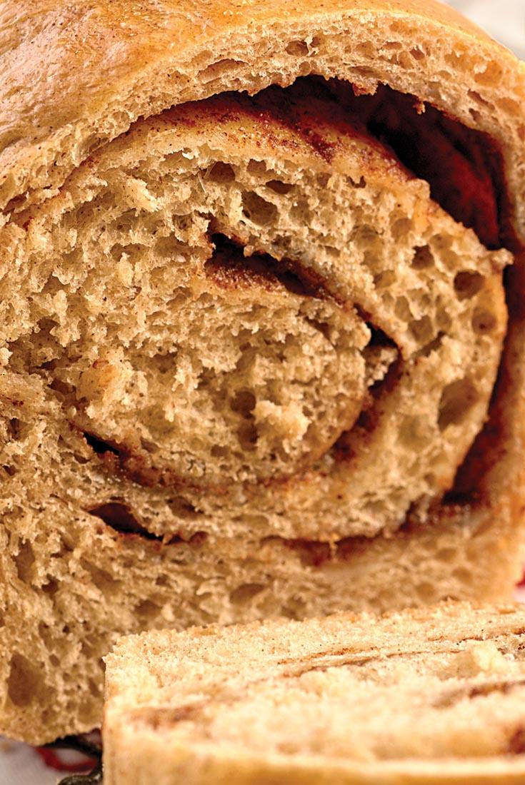 Mini Cinnamon Swirl Breads Recipe