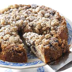 Gluten-Free Blueberry Coffeecake