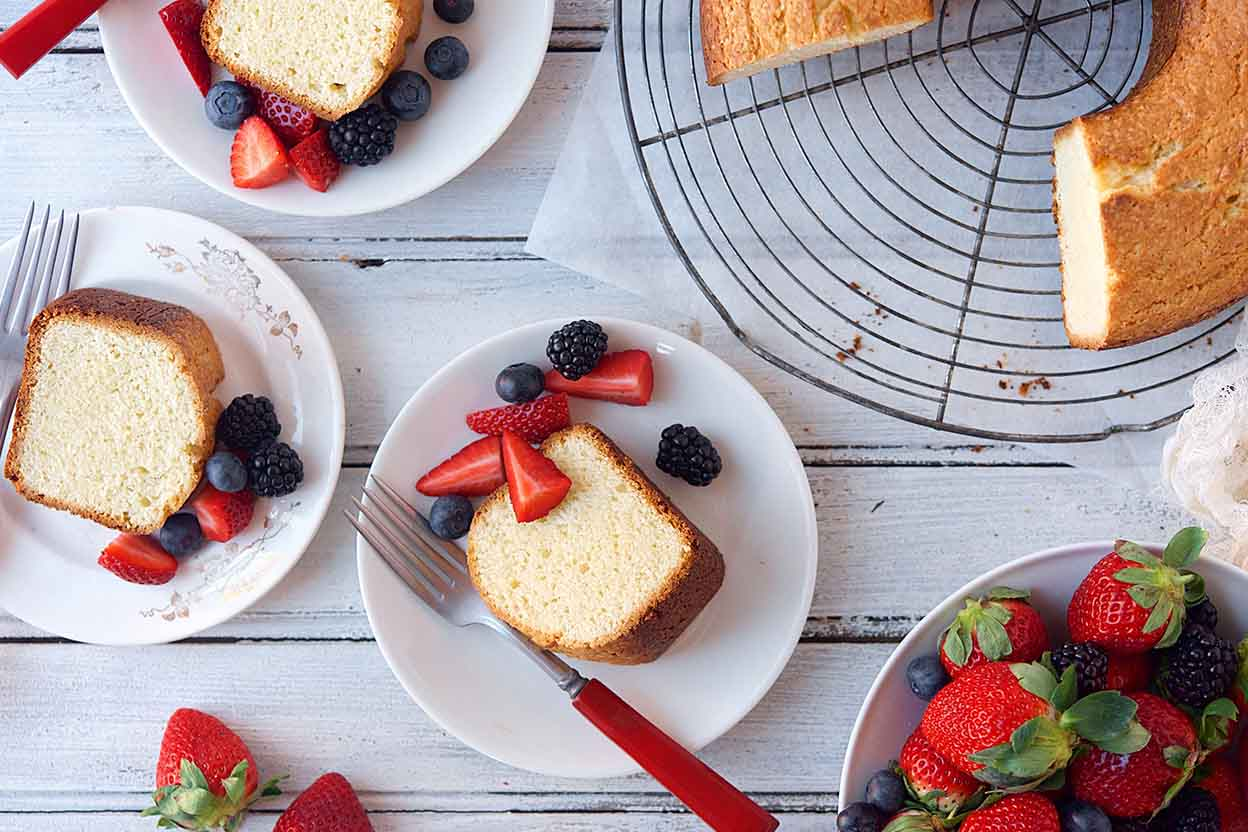 Pound Cake Recipe King Arthur: Norwegian Sour Cream Cake Recipe