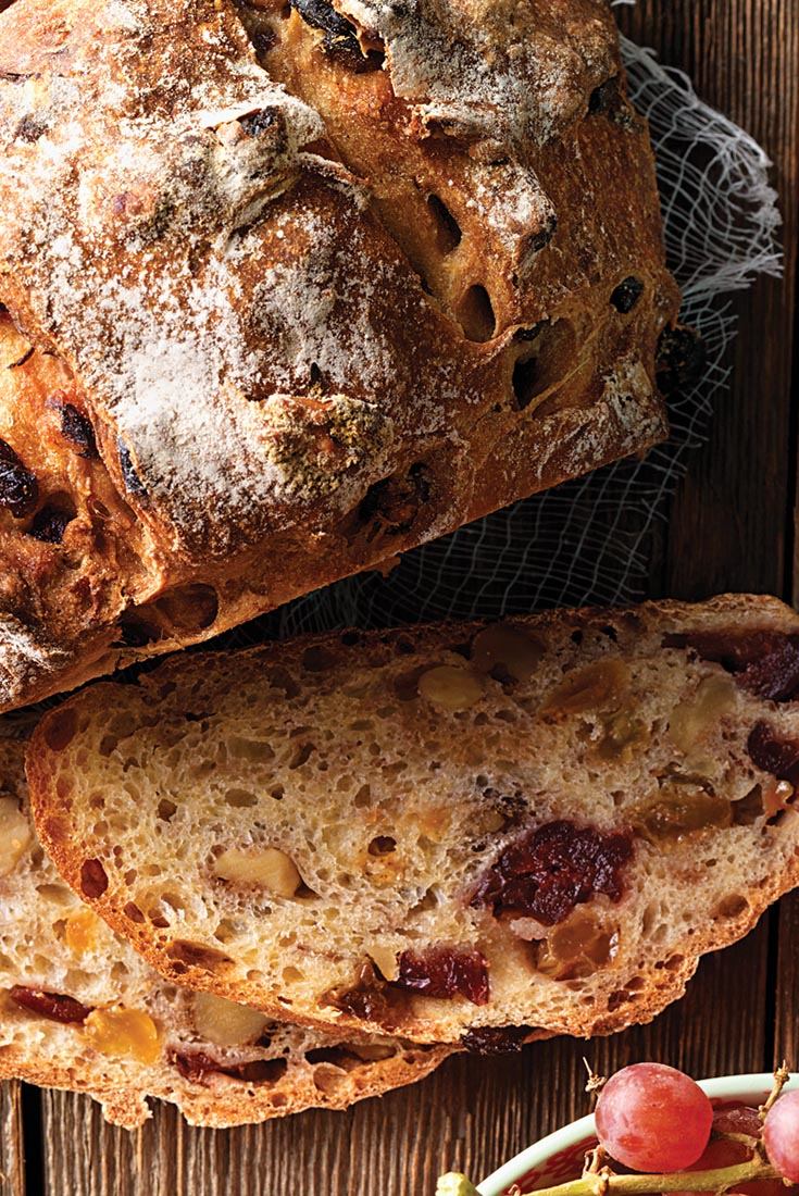No Knead Harvest Bread Recipe King Arthur Flour
