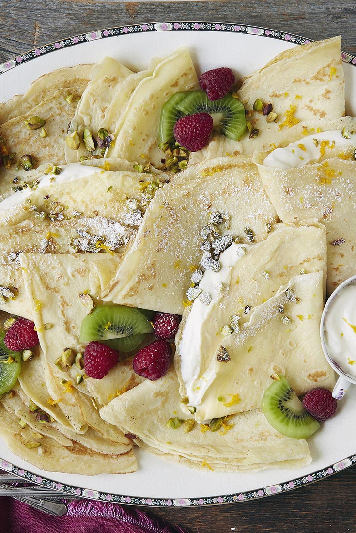 Gluten-Free Dessert Crêpes Recipe