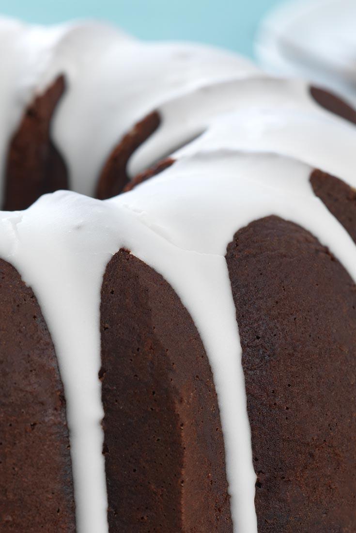 Double Cherry Chocolate Cake  Recipe