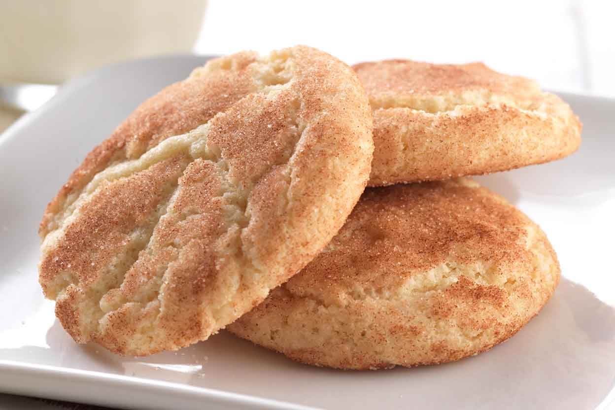 Gluten-Free Snickerdoodles made with baking mix Recipe | King Arthur ...