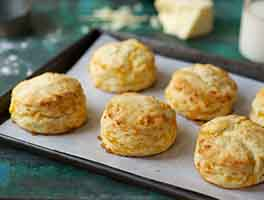 Savory Cheddar Cheese Biscuits