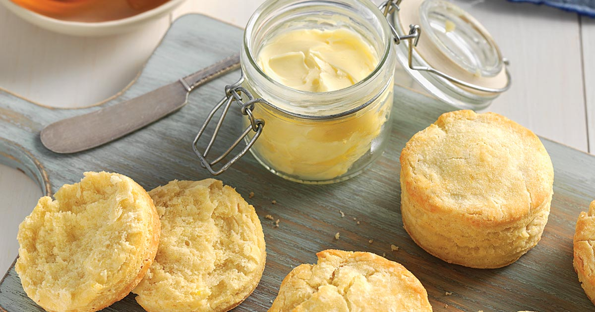 Gluten-Free Biscuits made with baking mix Recipe | King ...