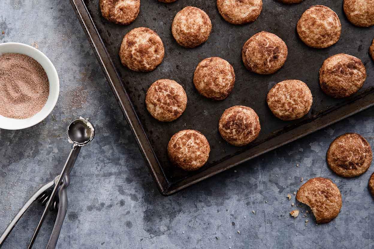 Buttery Snickerdoodles Recipe | King Arthur Flour