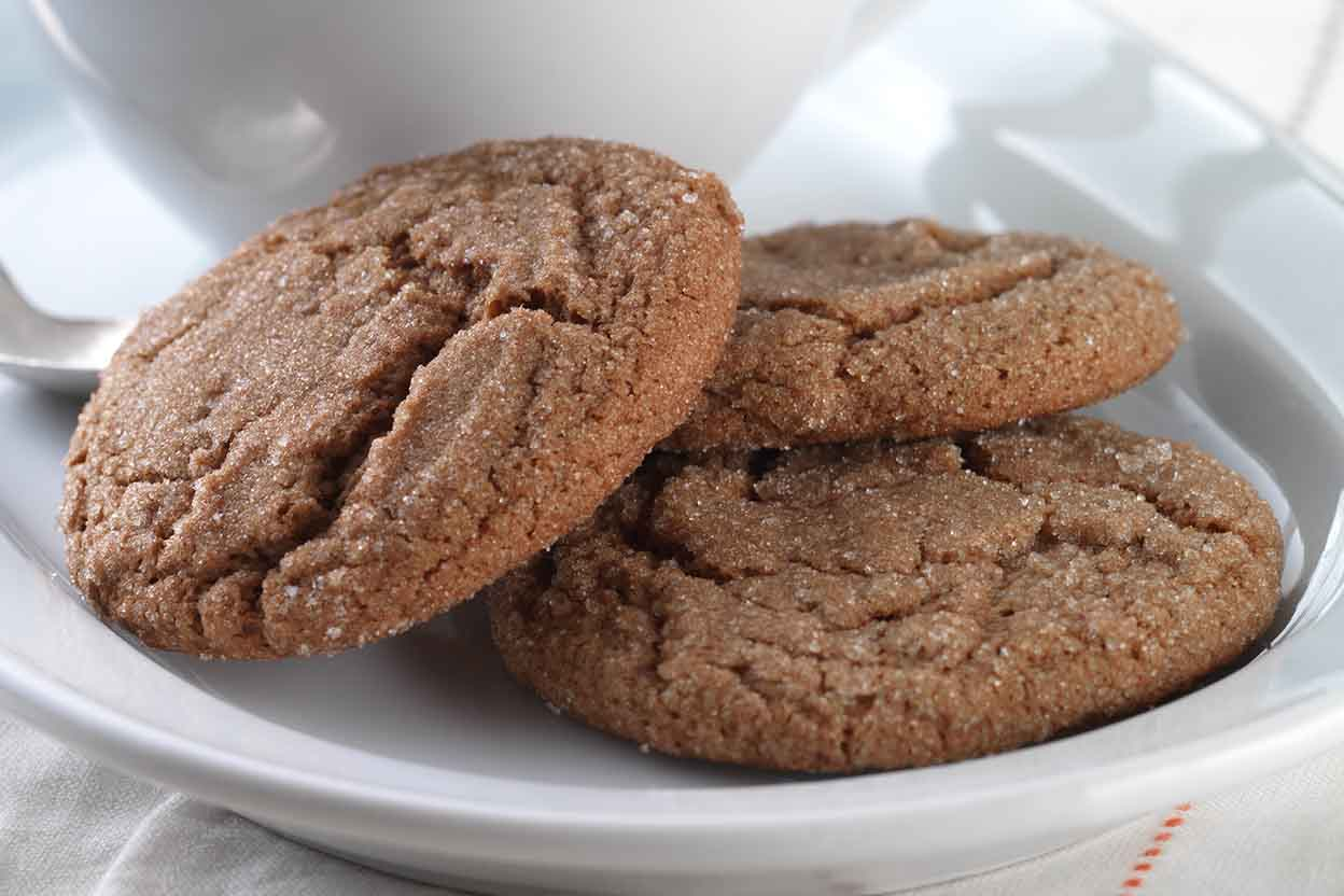 Gluten Free Soft Molasses Cookies Made With Baking Mix Recipe King