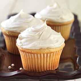 Gluten-Free Vanilla Cake made with baking mix