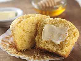 Gluten-Free Corn Muffins made with baking mix