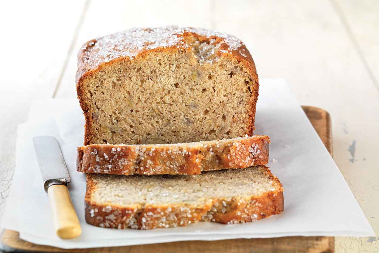 Gluten Free Quick Easy Banana Bread Made With Baking Mix Recipe