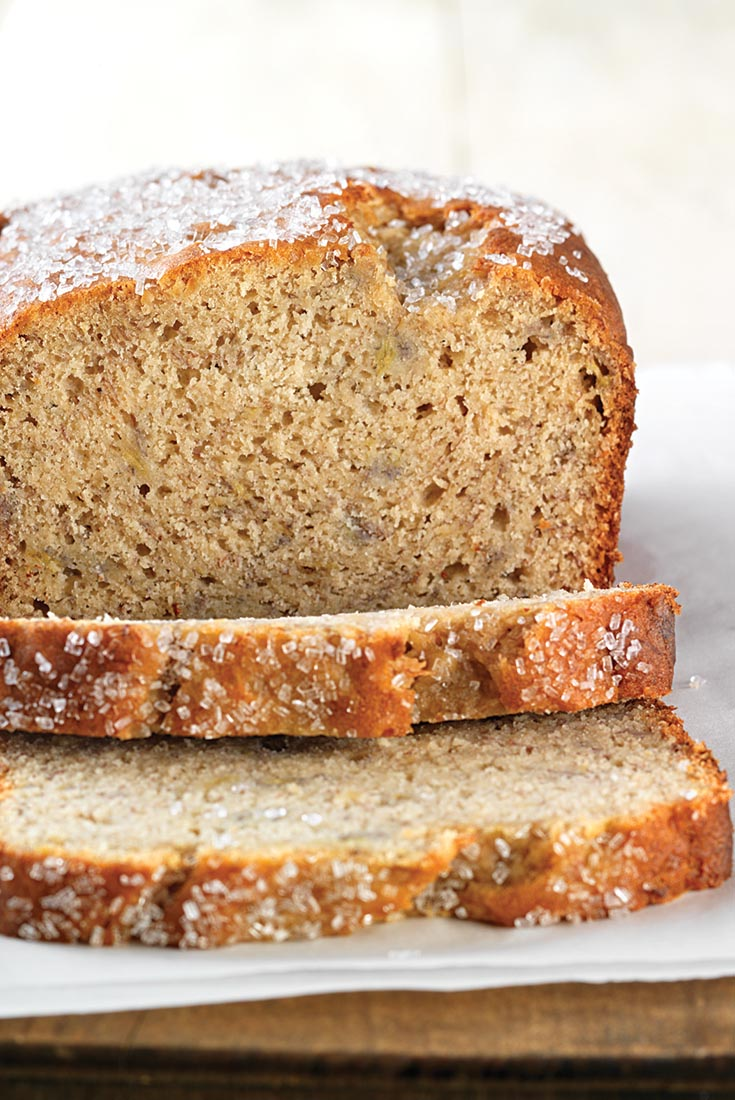 Self Rising Flour Banana Bread Recipe found in: How to substitute self-rising flour for all-purpose flour, Five great reasons to use a bread machine.
