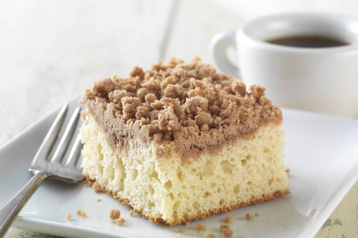 Gluten Free Cinnamon Streusel Coffeecake made with baking mix Recipe