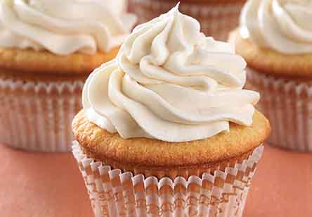Ultra Vanilla Cupcakes with Easy Vanilla Frosting