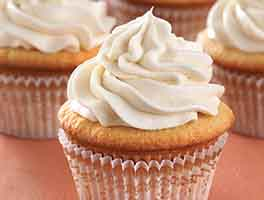 Ultra-Vanilla Cupcakes with Easy Vanilla Frosting