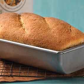Pumpernickel-Rye Hearth Bread