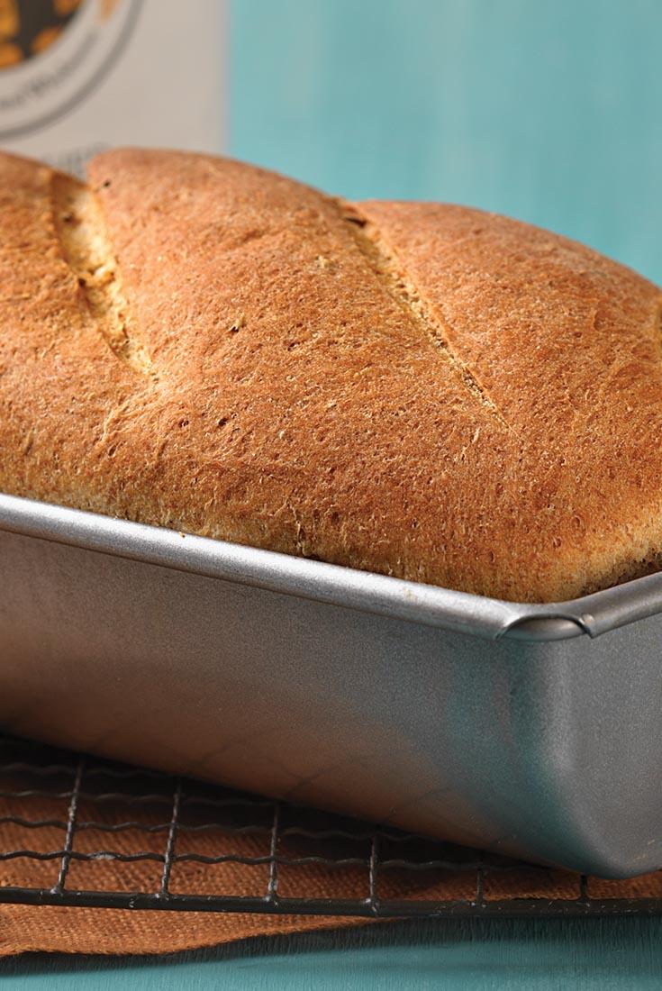 Pumpernickel-Rye Hearth Bread Recipe