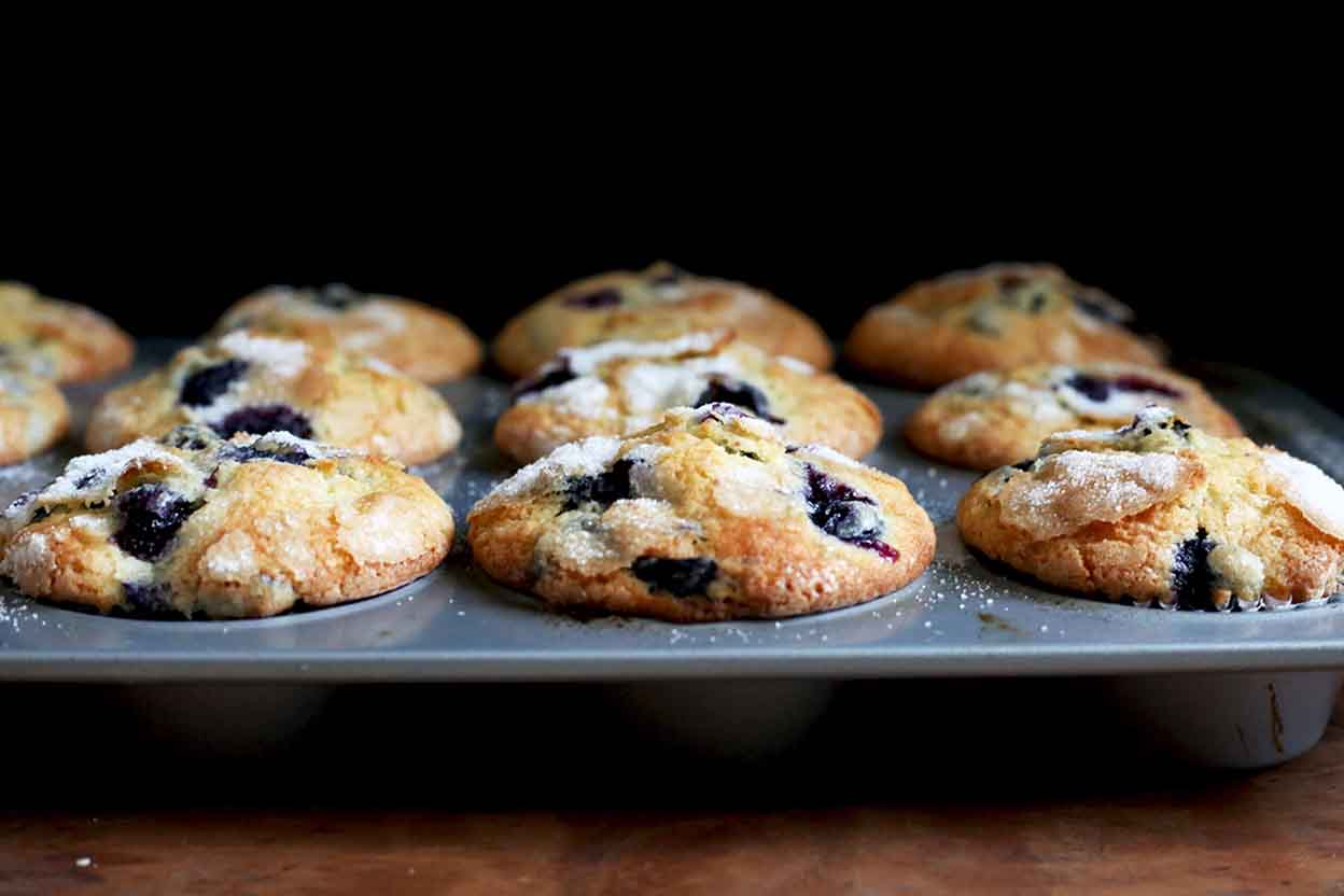 Famous Department Store Blueberry Muffins Recipe