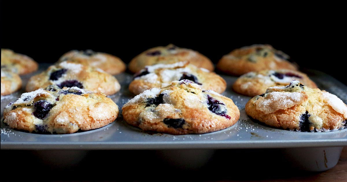 Famous Department Store Blueberry Muffins Recipe King