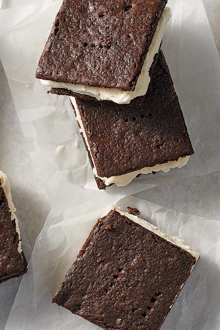 Chocolate Ice Cream Sandwiches Recipe
