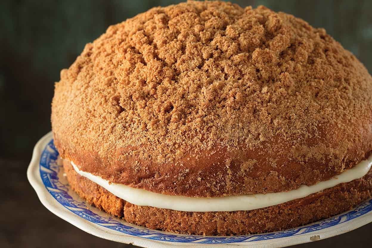 Best Coffee Cake Recipe King Arthur Flour: Cream-Filled Coffeecake Recipe