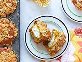 Inside-Out Pumpkin Muffins