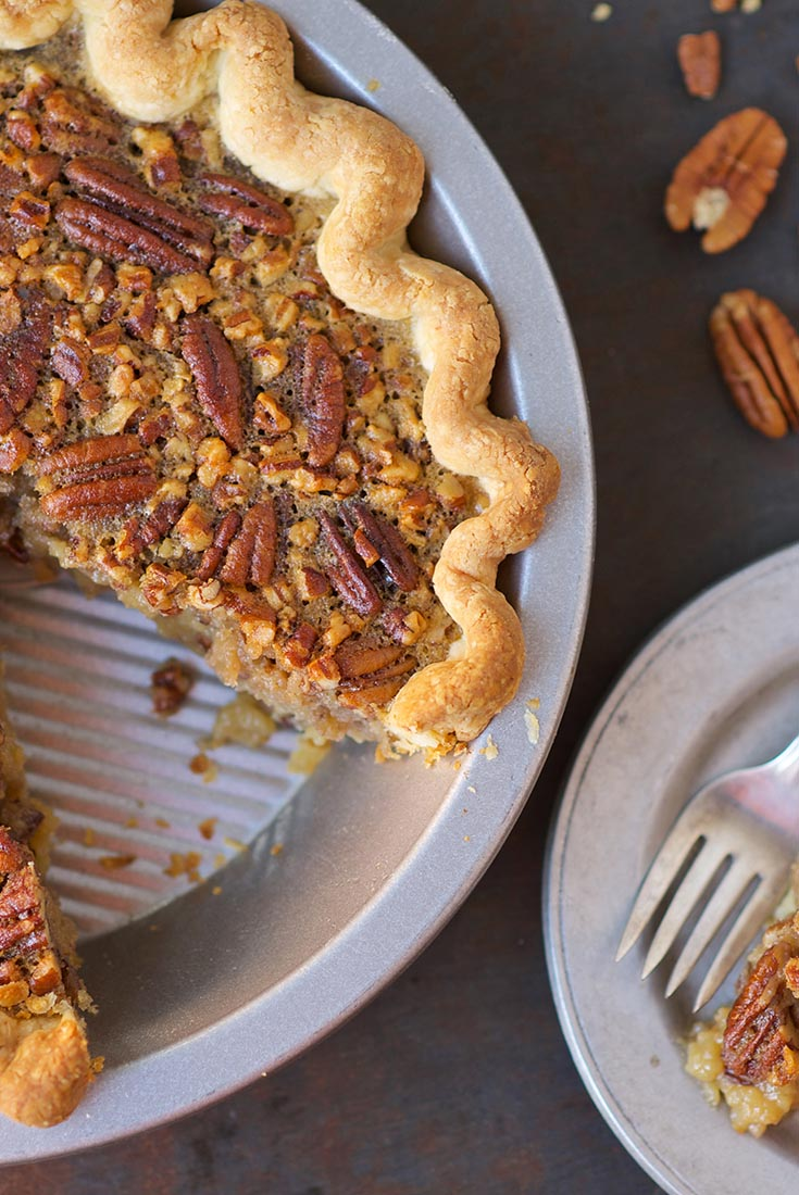 Old-Fashioned Pecan Pie Recipe | King Arthur Flour
