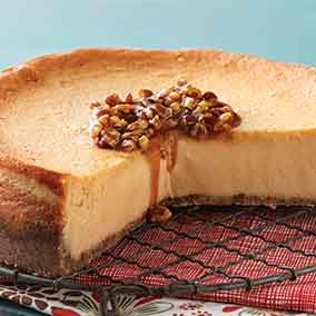 Maple-Pecan Cheesecake