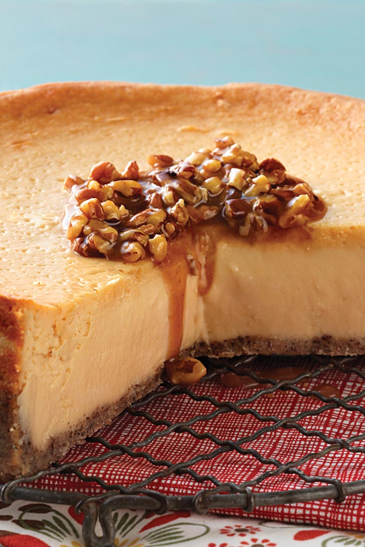 Maple-Pecan Cheesecake Recipe
