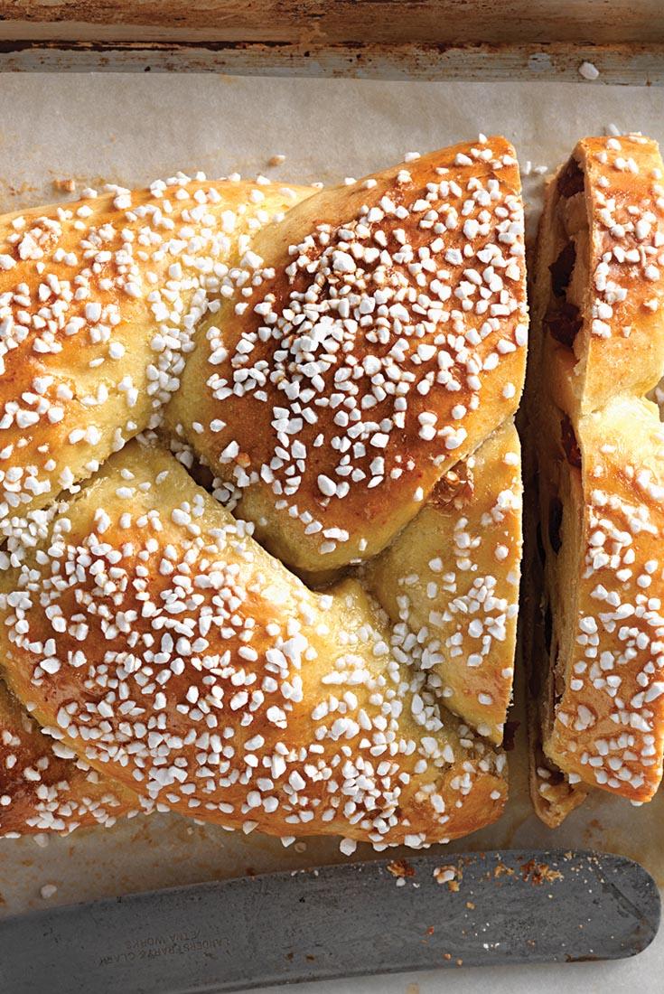 Cranberry Orange Braided Bread Recipe