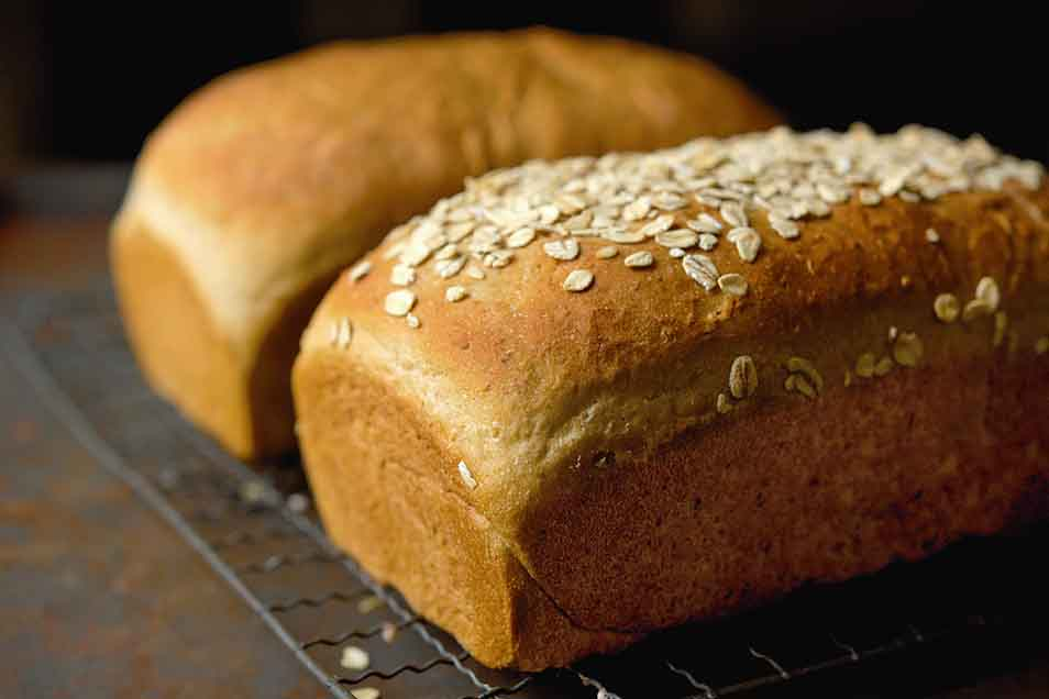 Vt Whole Wheat Oatmeal Honey Bread