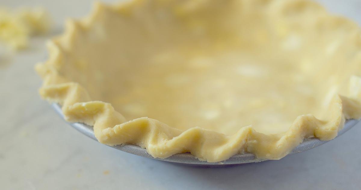 Classic Single Pie Crust Recipe | King Arthur Flour