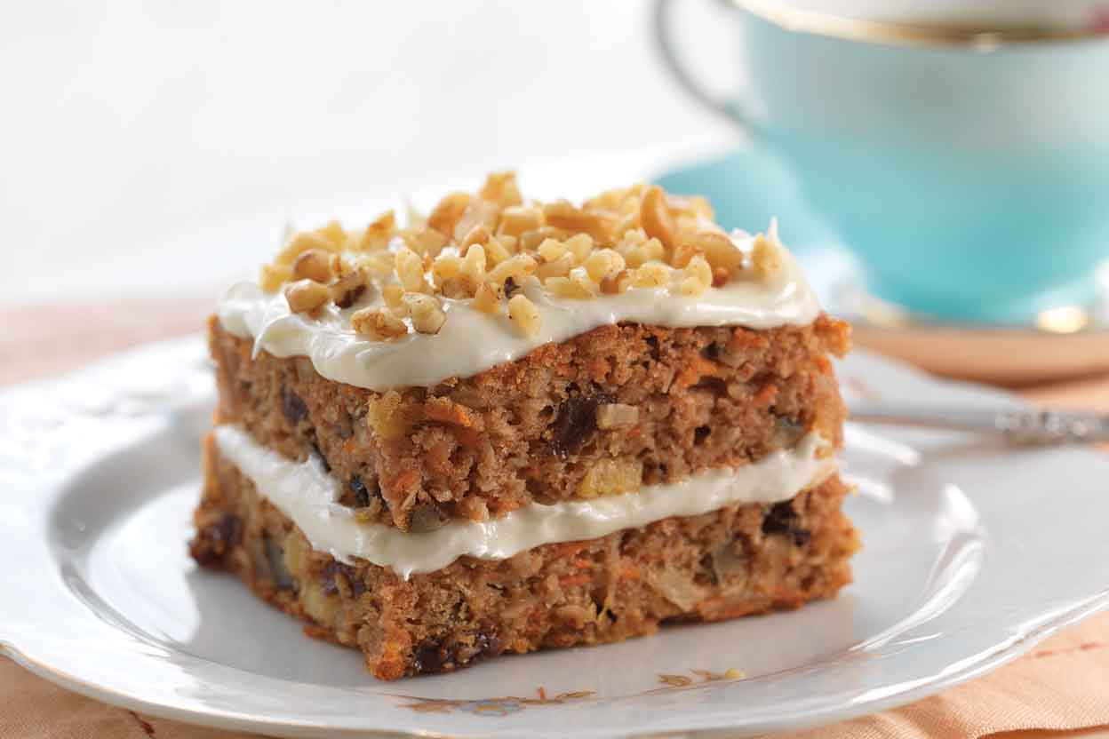 GlutenFree Carrot Cake made with baking mix Recipe King Arthur