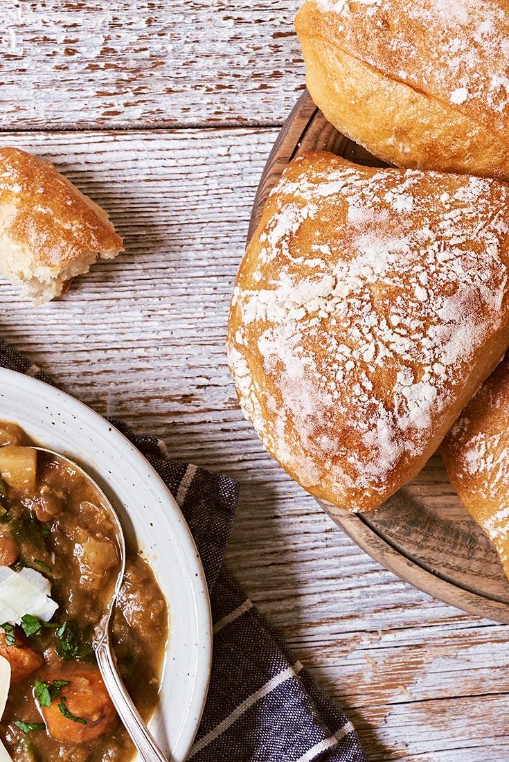 Chewy Italian Rolls Recipe