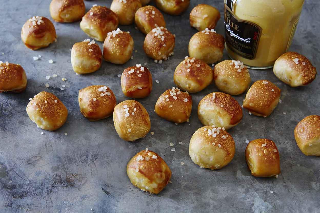 bread machine pretzel recipe