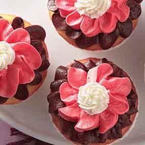 Neapolitan Cupcake Buttercream Frosting