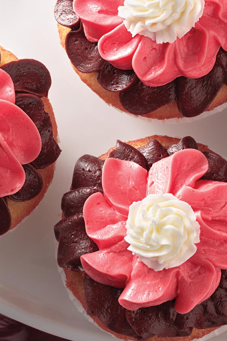 Neapolitan Cupcake Buttercream Frosting Recipe