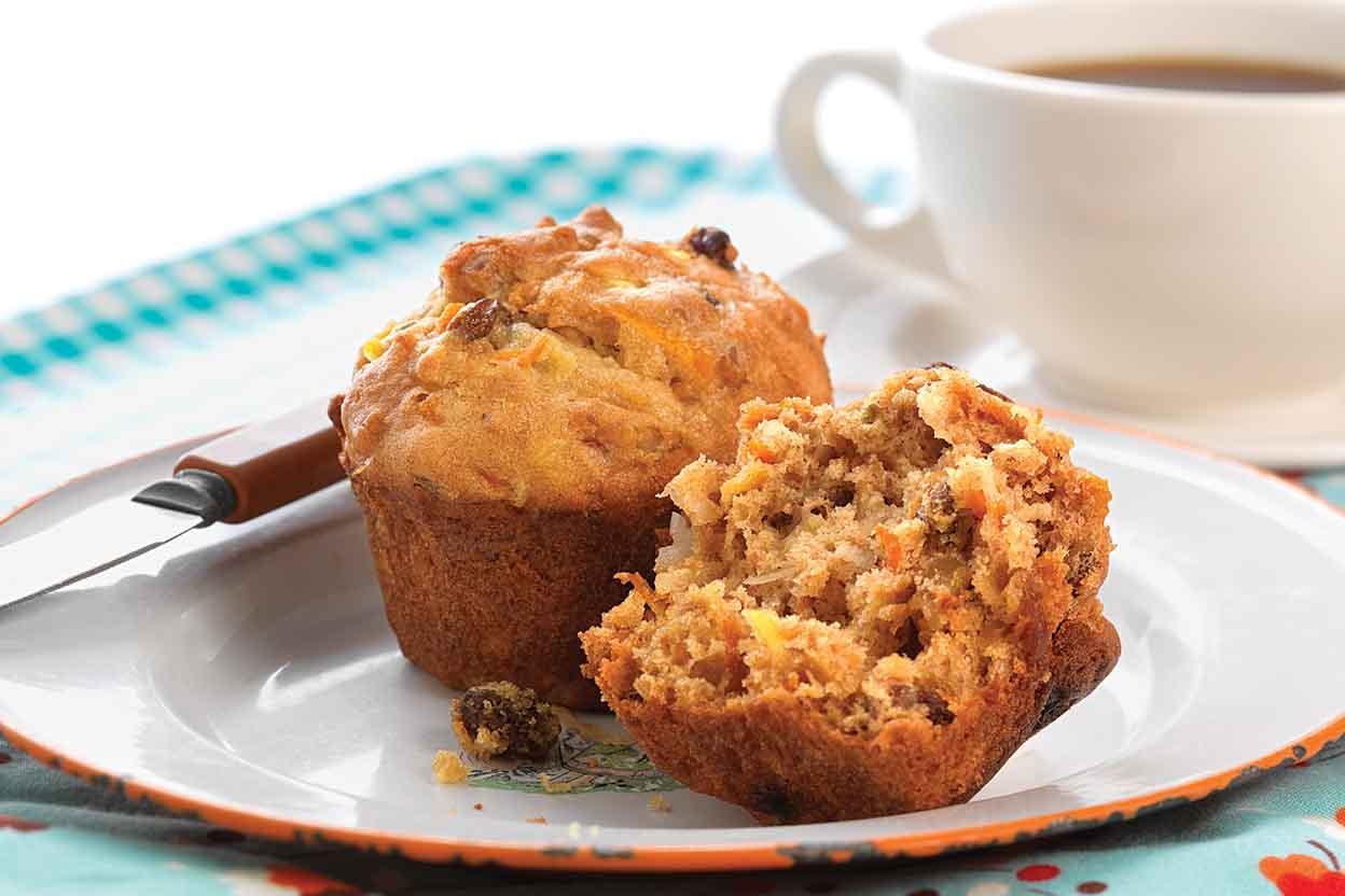 Gluten-Free Morning Glory Muffins Recipe | King Arthur Flour