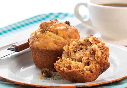 Gluten-Free Morning Glory Muffins