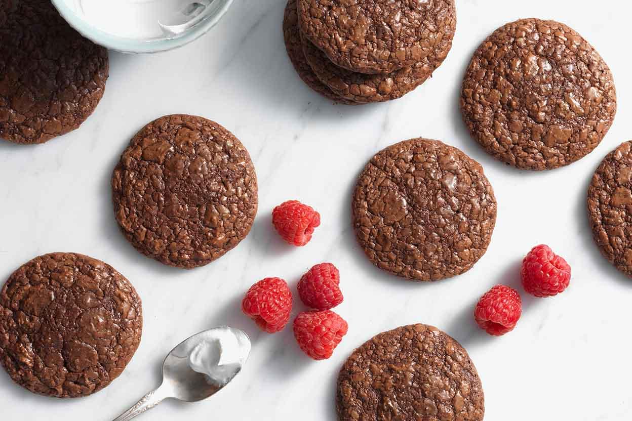 King Arthur Flour Almond Dark Chocolate Butter Cookies