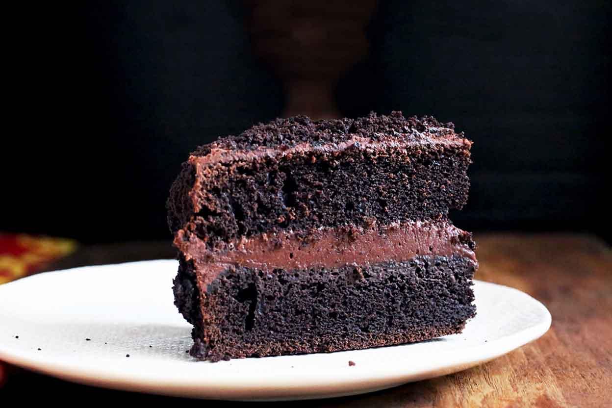 Chocolate Fudge Quot Blackout Quot Cake Recipe King Arthur Flour
