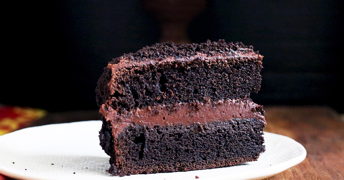 "King Arthur King Cake Recipe: Chocolate Fudge ""Blackout"" Cake Recipe"