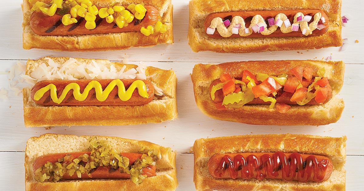 Hot Dog Buns King Arthur