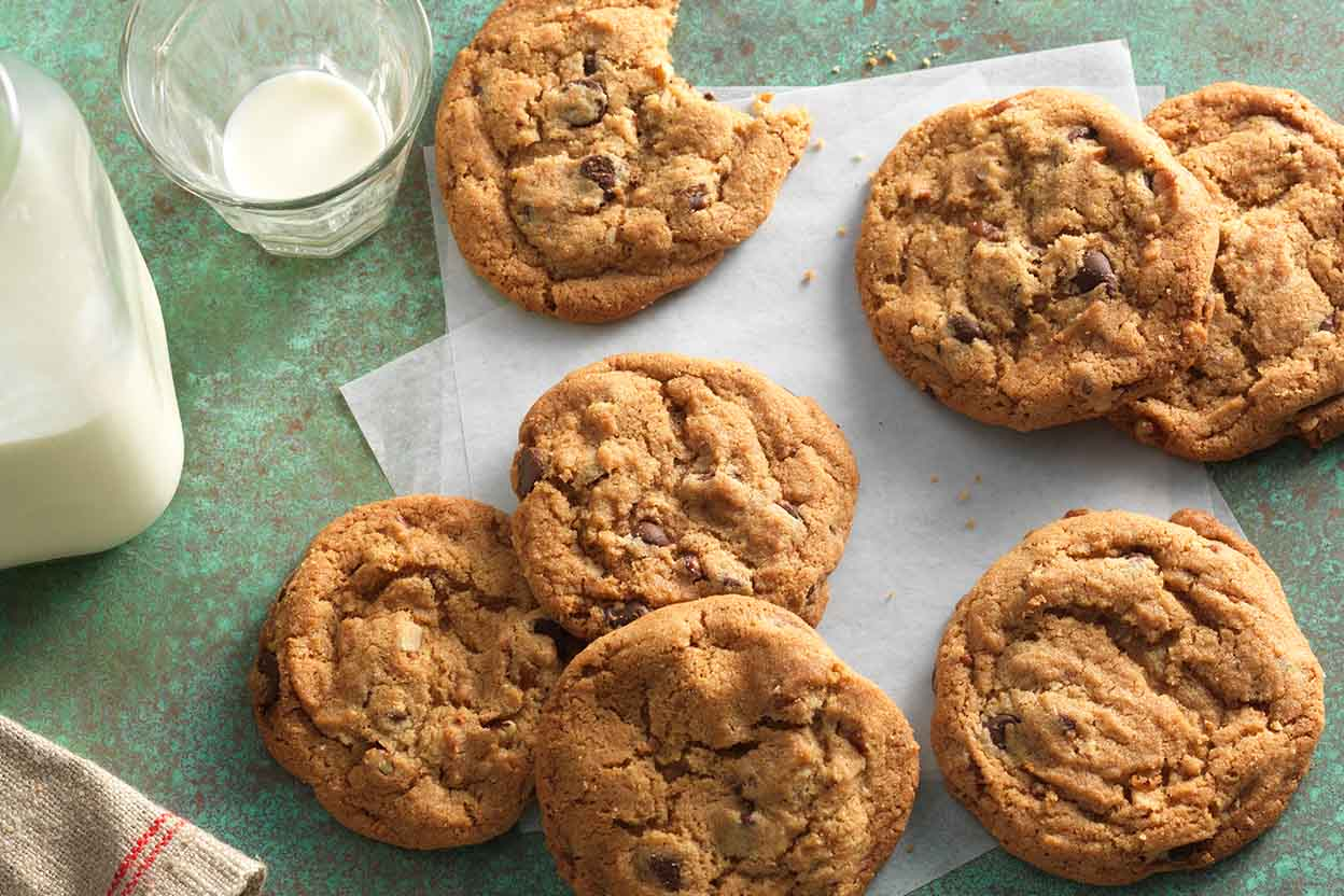 Joy S Brown Butter Chocolate Chip Cookies With Pecans Recipe King