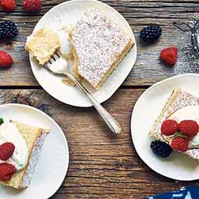 Plain & Simple Golden Cake