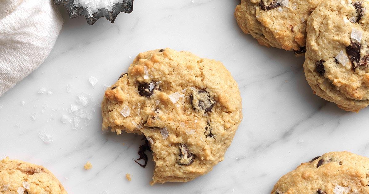 Gluten Free Almond Flour Chocolate Chip Cookies Recipe King Arthur