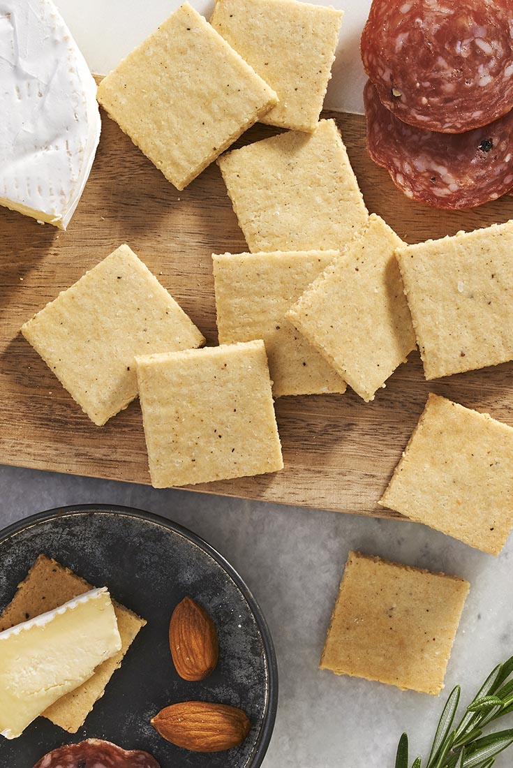 Gluten-Free Almond Flour Crackers Recipe